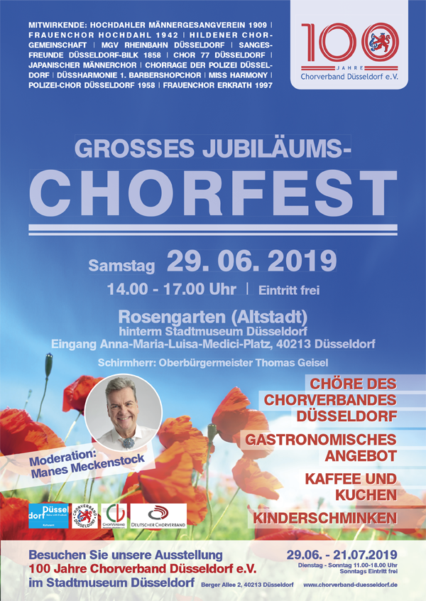 Bild: Plakat Chorfest