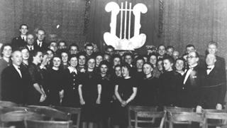 Bild: Frauenchor Hochdahl 1942 im Jahr 1946