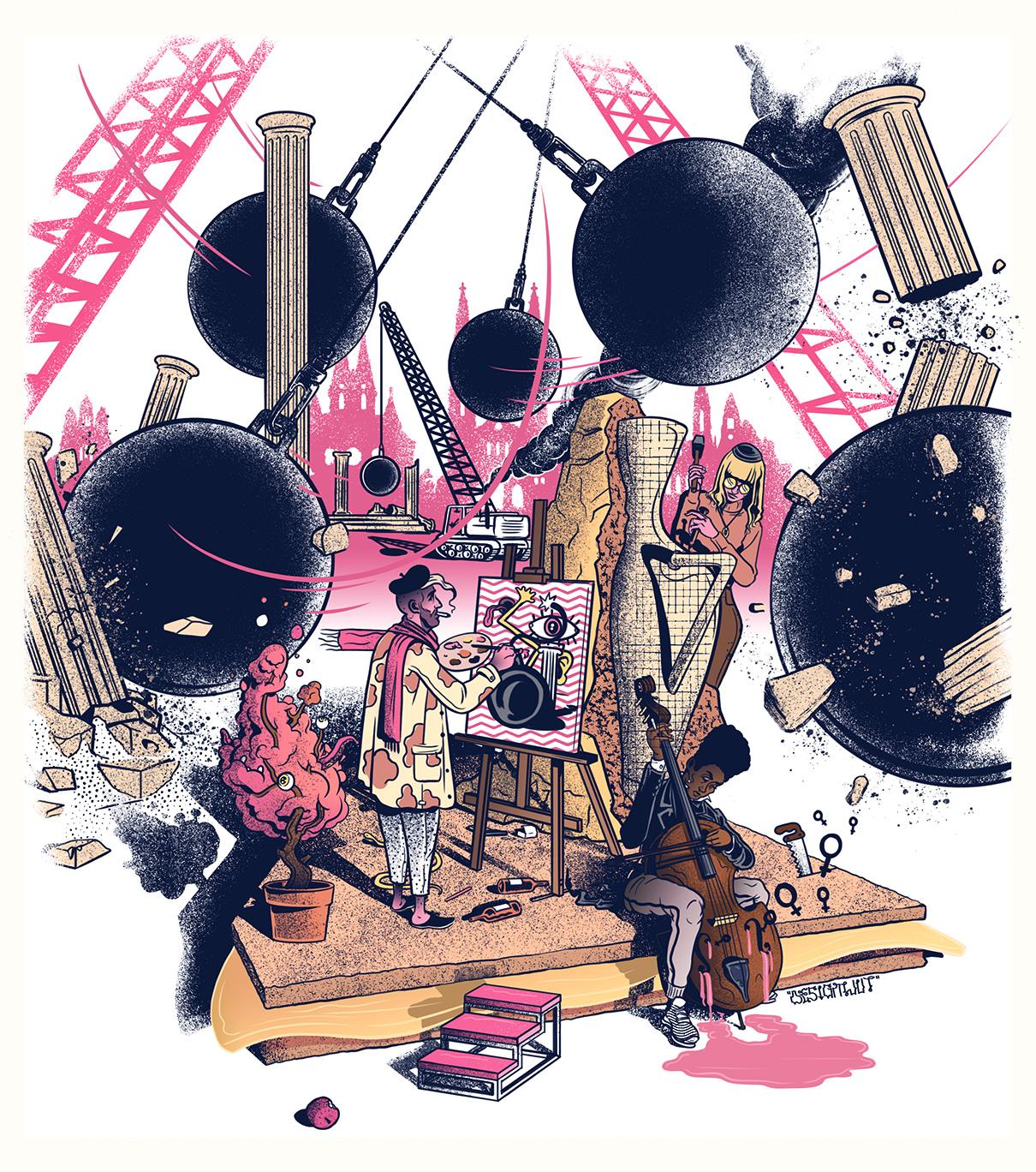 SENSOR MAGAZINE (WIESBADEN) → Cover Illustration; #79 November 2019