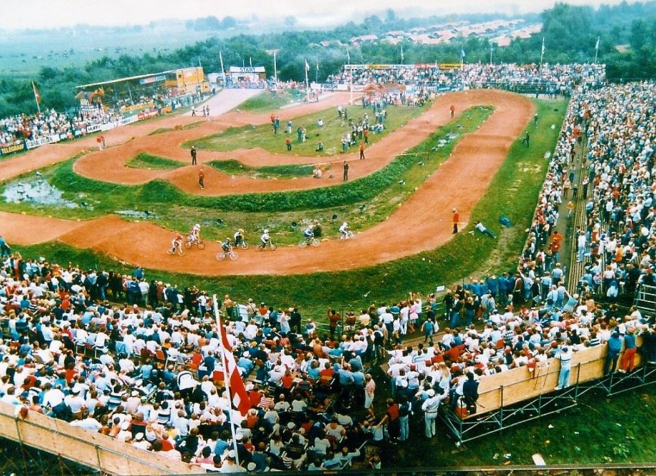 De BMX fietscrossbaan in het toenmalige Ponypark Slagharen (1981-1993).
