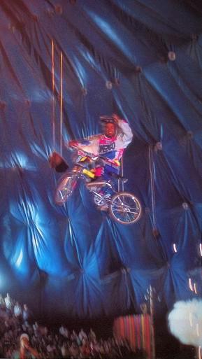 BMX Stunts in het Westerntheater