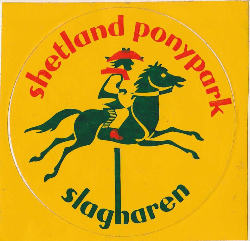 Shetland Pony Park Slagharen (ca. 1970 t/m 1980)