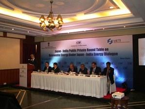 日印再生可能エネルギー等官民ラウンドテーブルにて 八木駐印大使挨拶
