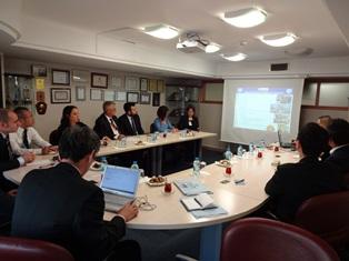イズミル工業連盟とのミーティング