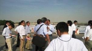 Damman工業団地 排水処理施設見学