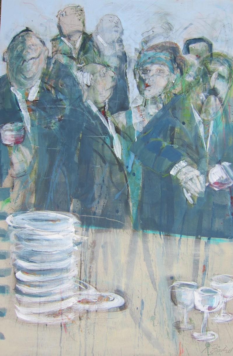 Sind Sie dabei?, Acryl/Leinwand,120 x 80 cm