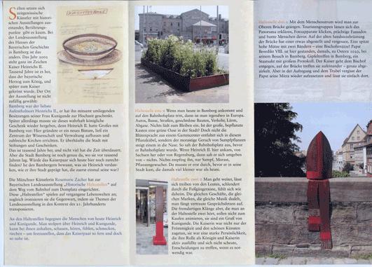 Historische Haltestellen im Stadtraum Bamberg