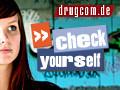"""Topthemen, Drogenlexikon, Drogen, Wissenstest, """"teste dich"""", Beratung + Hilfe, Videos"""