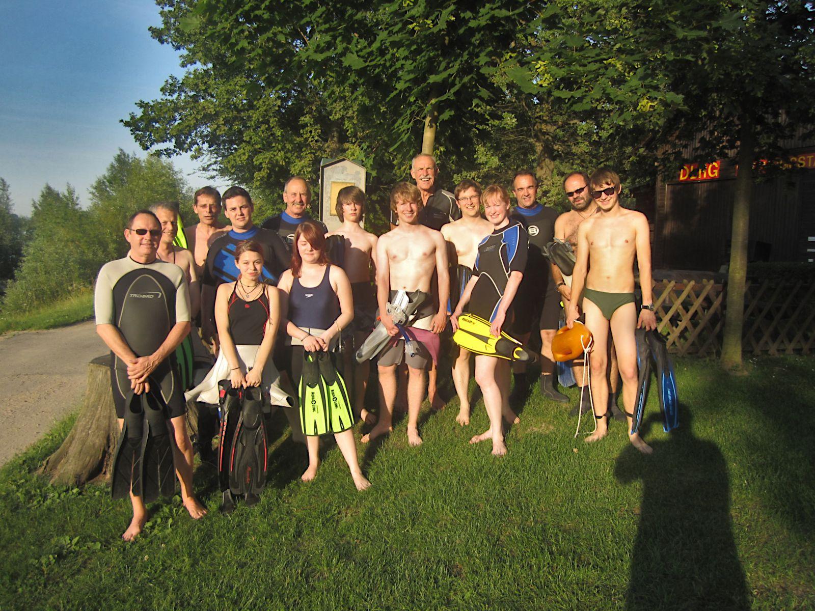 Rheinschwimmen 2011