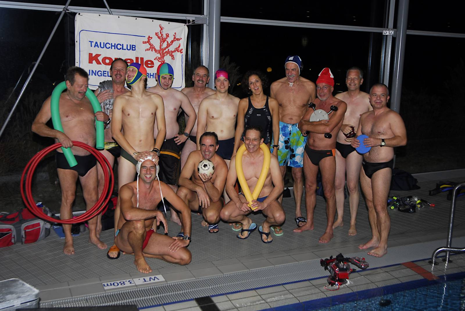 Schwimmbad-Training 2010