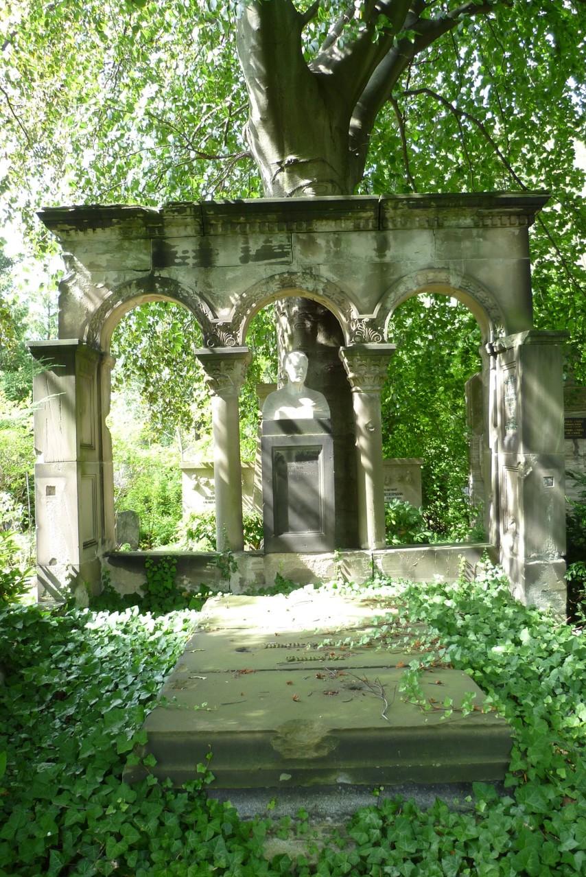 Dorotheenstädtischer Friedhof II - Grabstätte Marie Steinhardt  © Diana Schaal