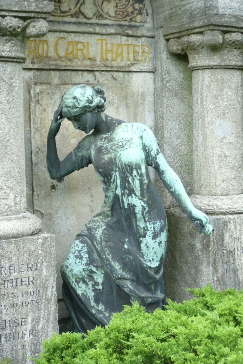 Dorotheenstädtischer Friedhof II - Grabstätte Fam. Thater  © Diana Schaal
