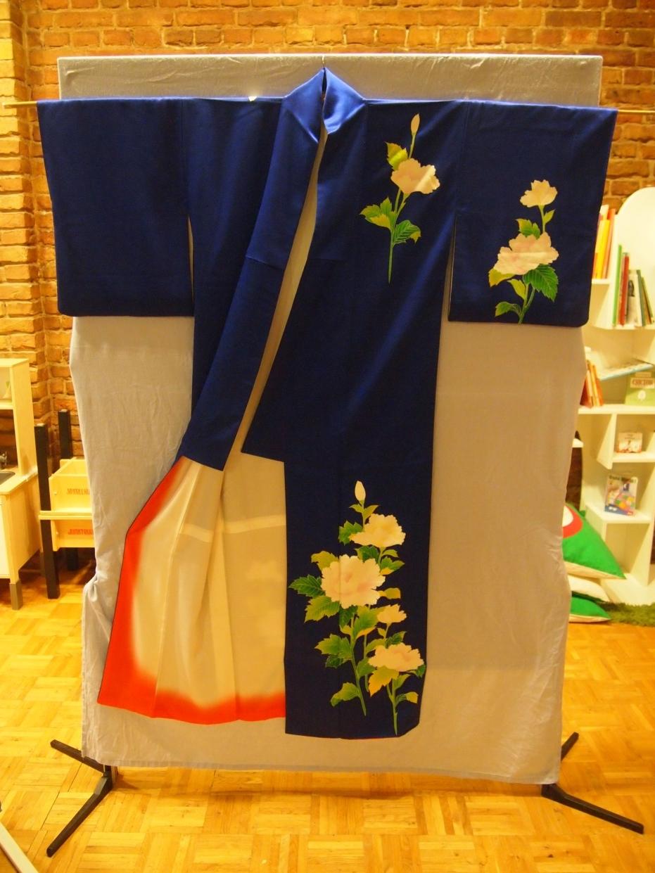 Kimono blau, © Chihoco Yanagi