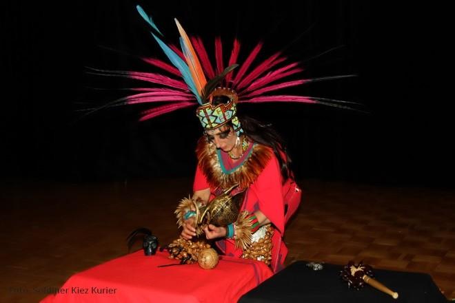 Saide Sesin Martinez vor dem rituellen Tanz © SKK