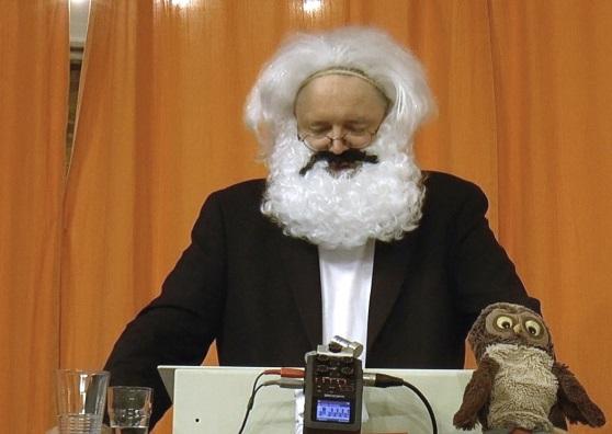 Thomas Kilian ist Marx © Matthias von Hoff