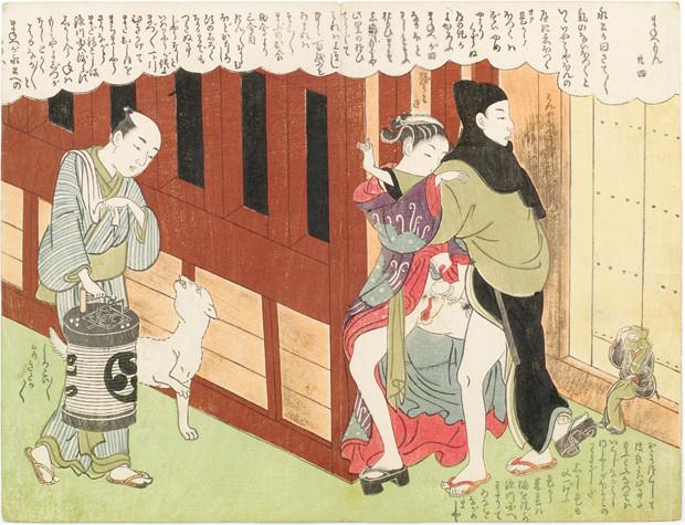 Sex an der Hausecke (Shunga)