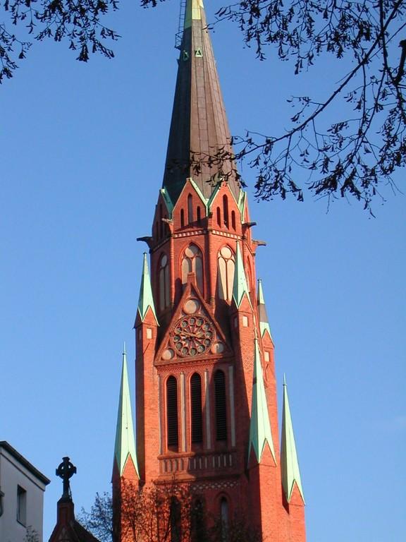 Stephanus-Kirche, Glockenturm
