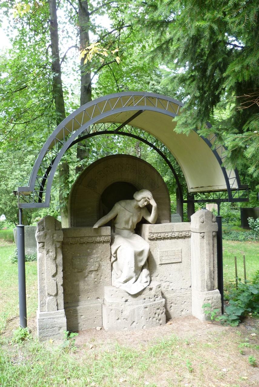 St. Hedwig - Grabstätte Jules Brunfaut  © Diana Schaal