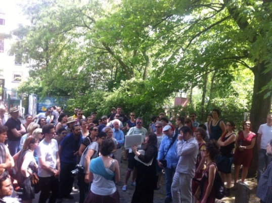 Diana Schaal erzählt vom Schicksal der jüdischen Familie Gattel