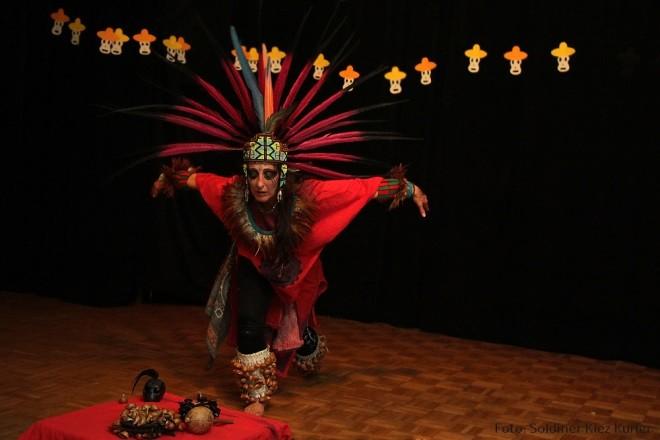 Performance Bildsprache der Maya & Azteken © SKK