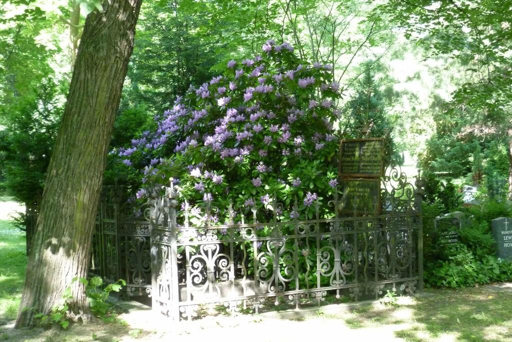Grab auf dem Elisabeth-Friedhof