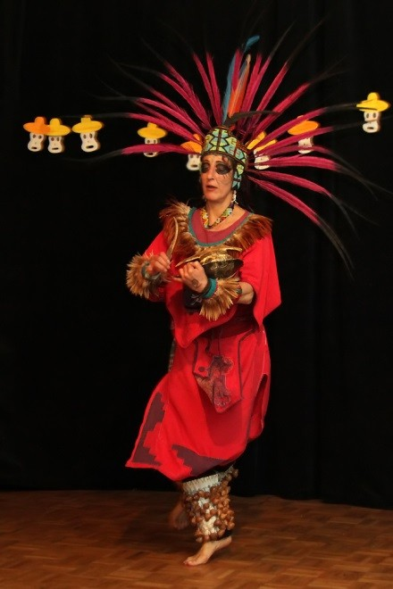 Saide Sesin Martinez - Ritueller Tanz © SKK
