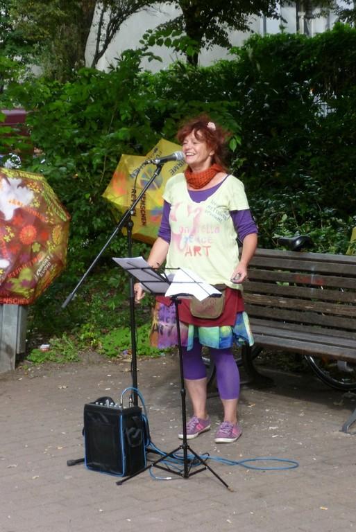 Ute Donner, die Künstlerin