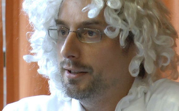 Piere Lacenaire ist Rousseau © Matthias von Hoff