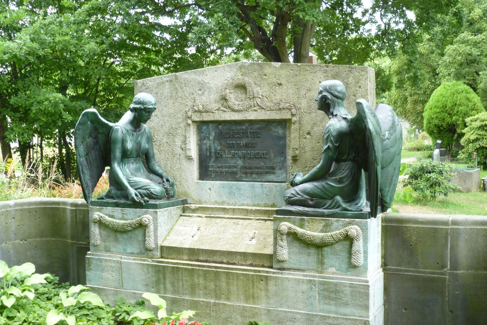 Franz. ref. Friedhof - Grabstätte Fam. Fonrobert  © Diana Schaal