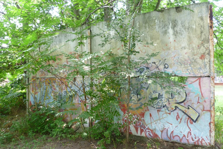 St. Hedwig - Berliner Mauer/Hinterlandmauer  © Diana Schaal