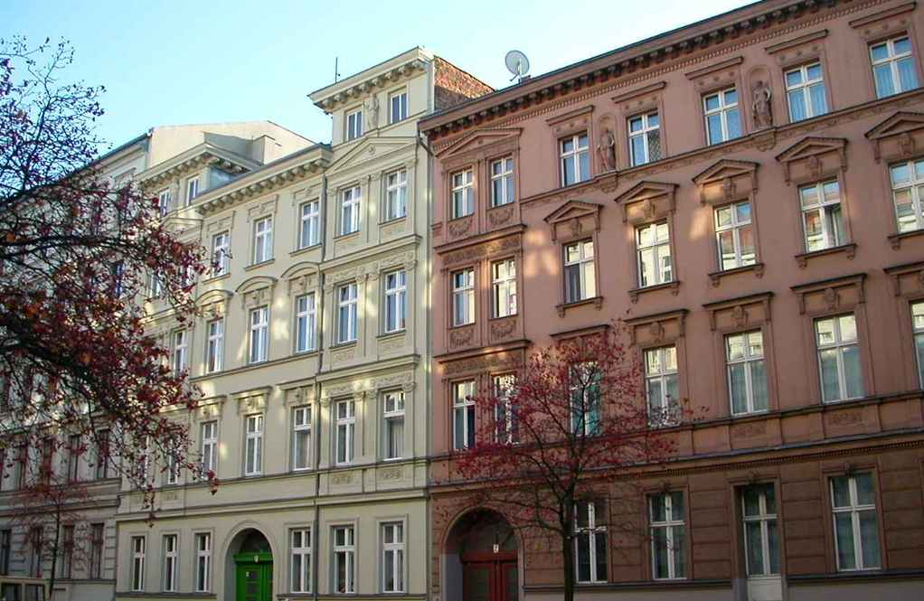 Gründerzeit-Häuser, Biesentaler Str. 2-3