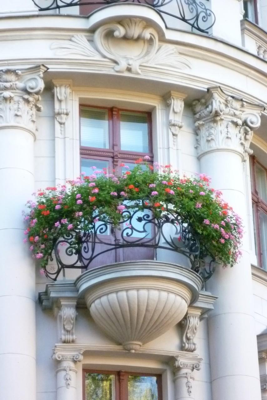 Balkon Nordbahnstraße/Ecke Sternstraße