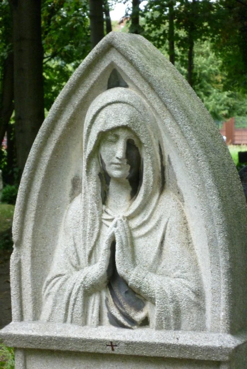 St. Hedwig - Grabstätte Paul & Ida Hoffmann  © Diana Schaal