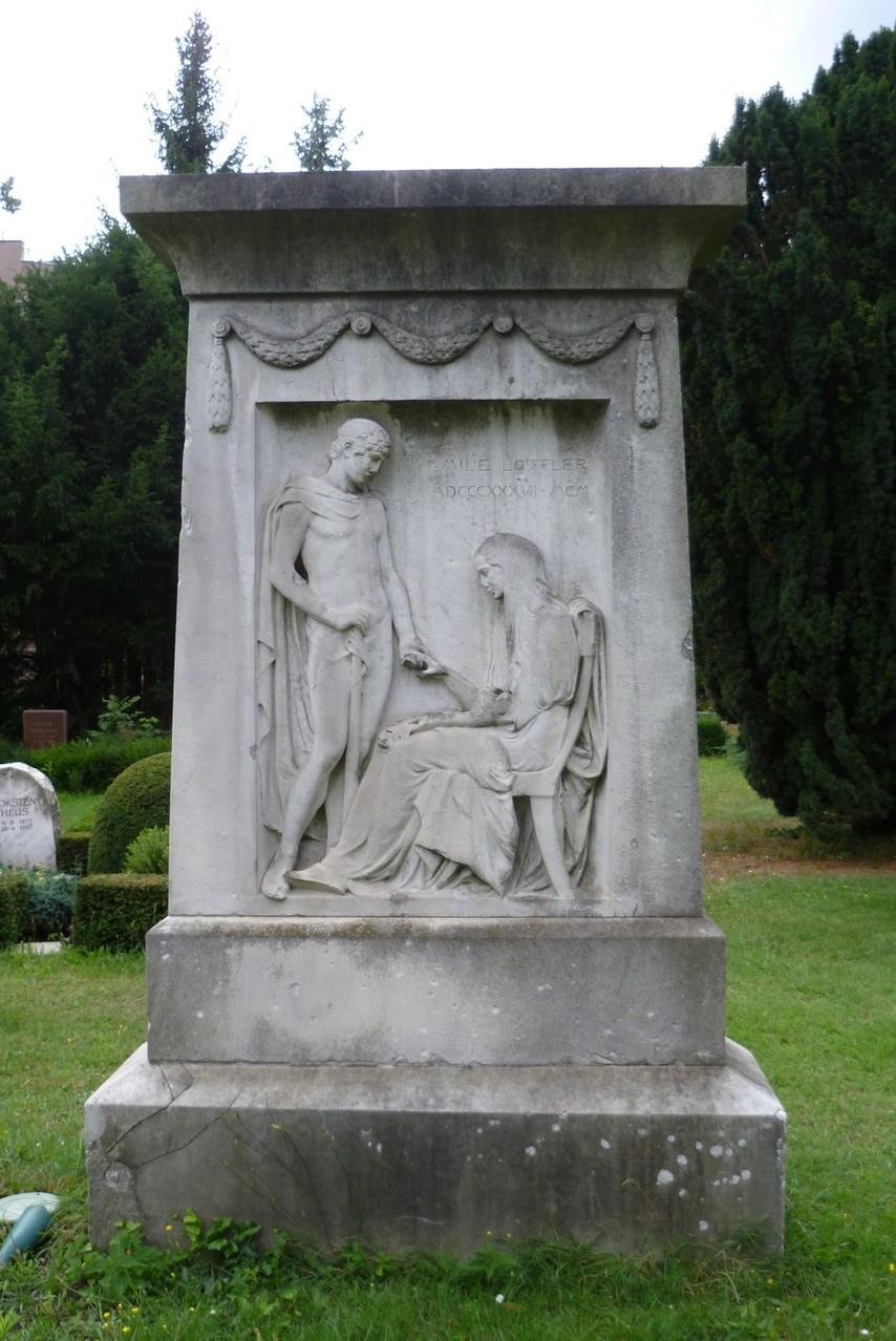 Dorotheenstädtischer Friedhof II - Grabstätte Emilie Löffler  © Diana Schaal
