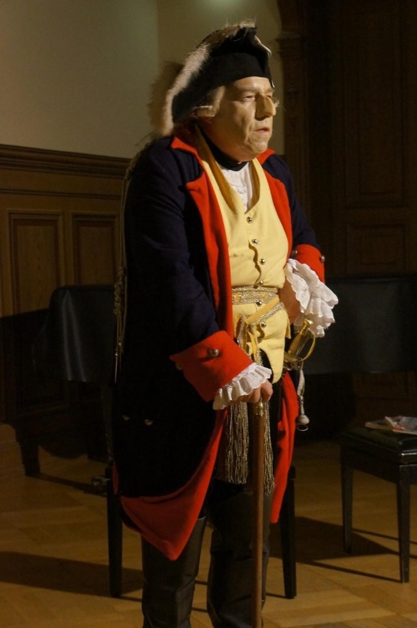 Dr. Olaf Kappelt als Friedrich der Große  © Kerstin Kaie