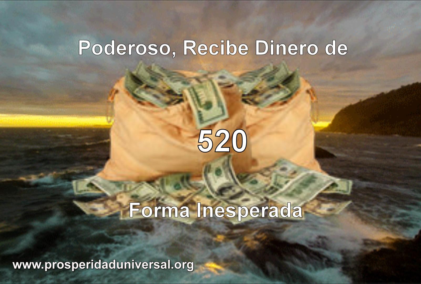 PODEROSO, RECIBE DINERO DE FORMA INESPERADA