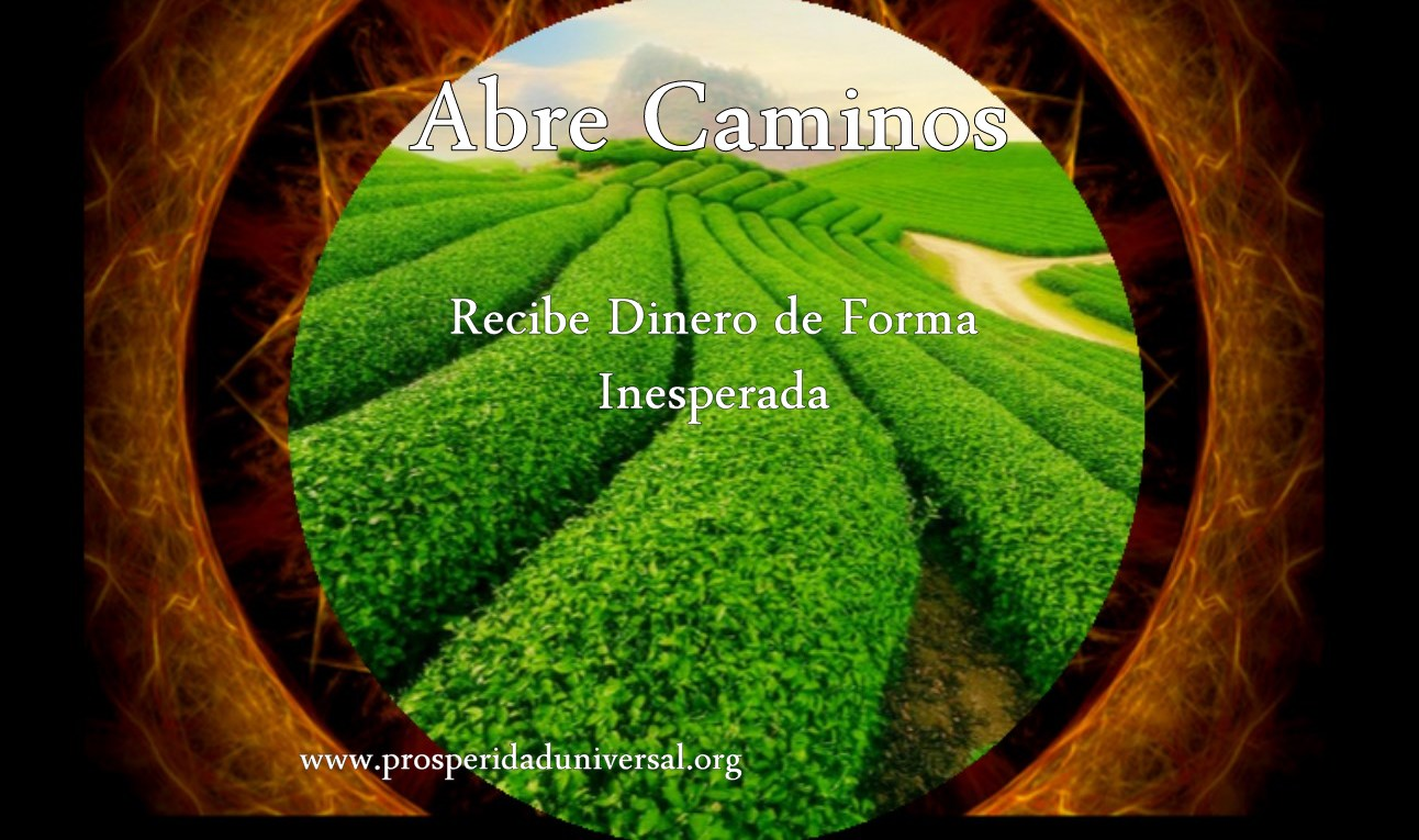 ABRE CAMINOS, RECIBE DINERO DE FORMA INESPERADA