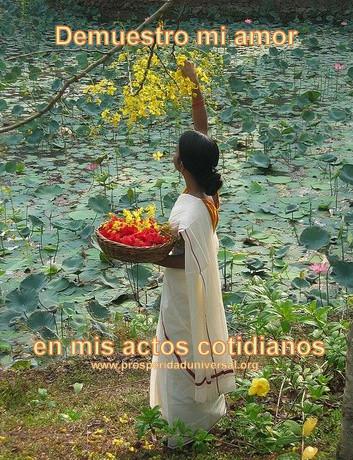 Los milagros son creaciones del amor, provienen del amor y los magnetizas con el amor- PROSPERIDAD UNIVERSAL