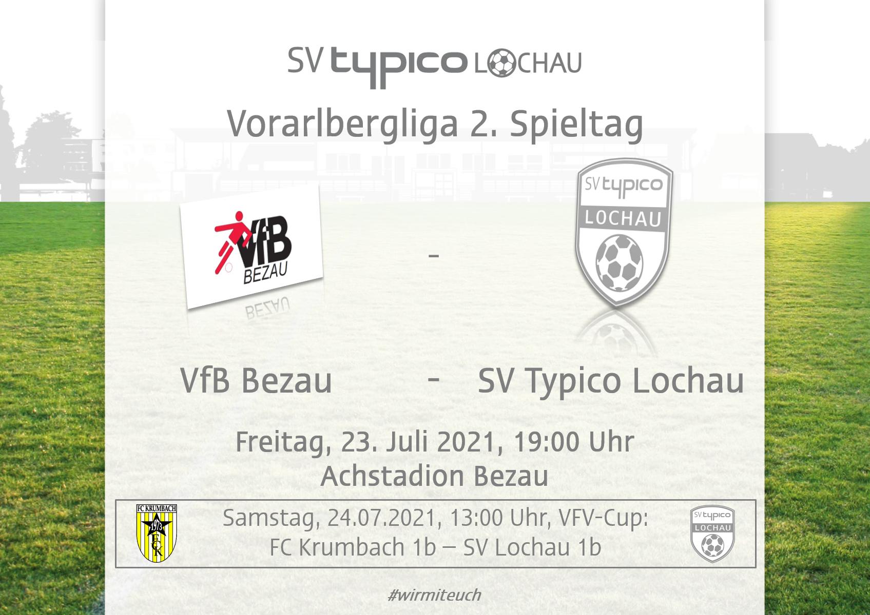 KM gastiert beim VfB Bezau