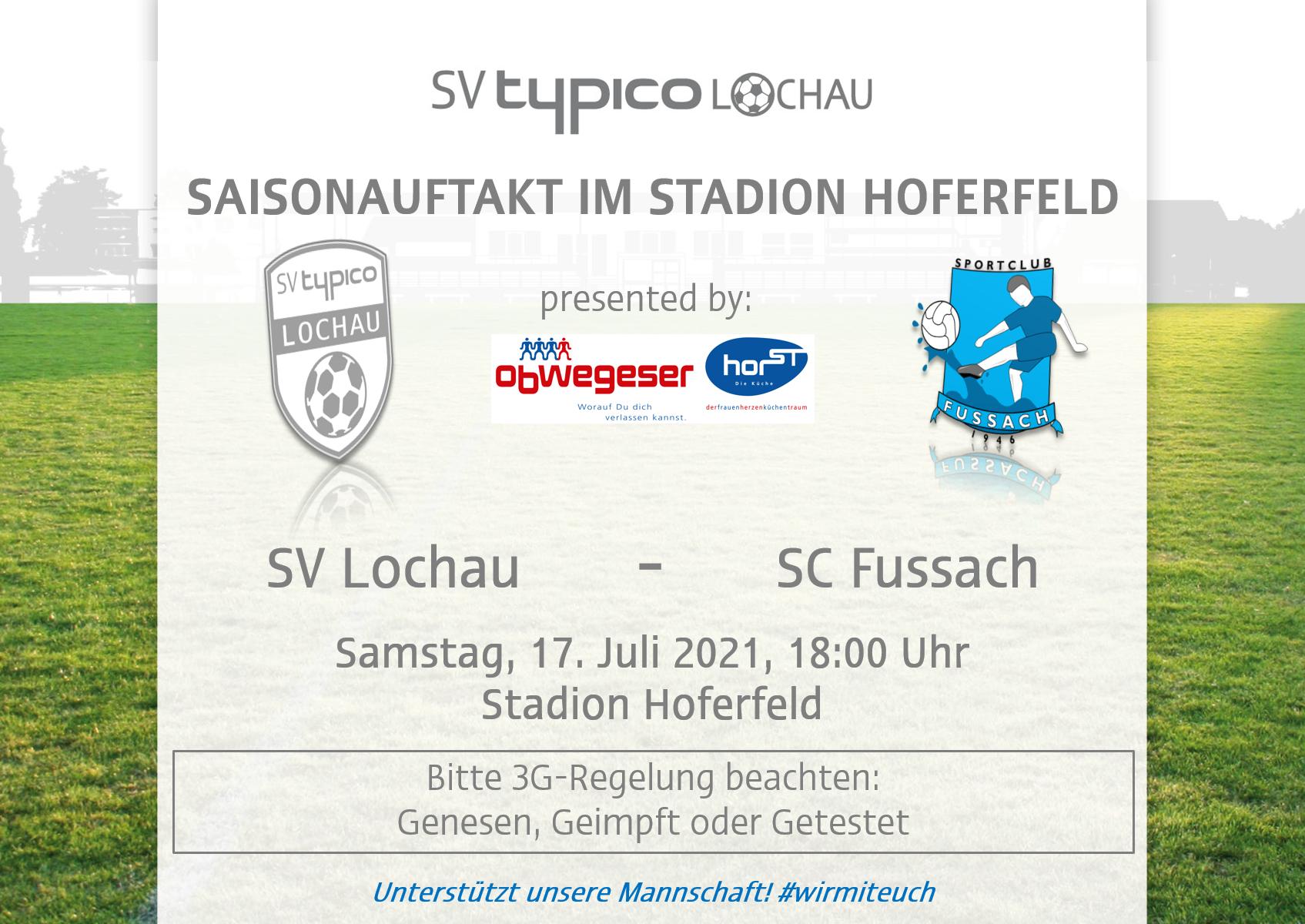 Saisonauftakt im Stadion Hoferfeld
