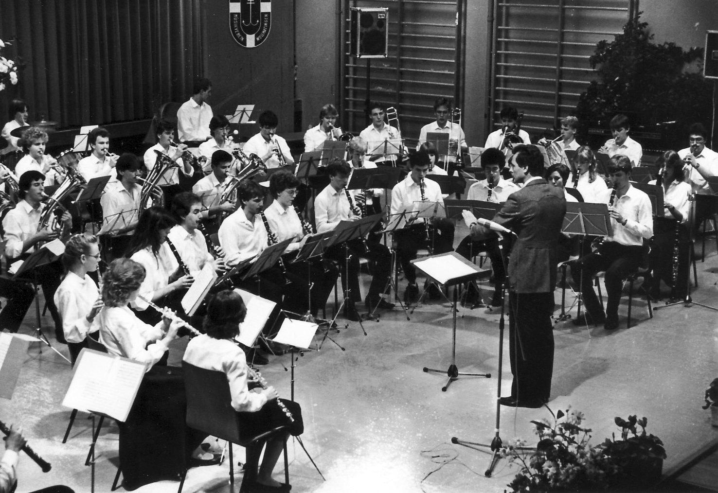 1983 erstes Konzert der Jugendkapelle Dingelsdorf –Wollmatingen