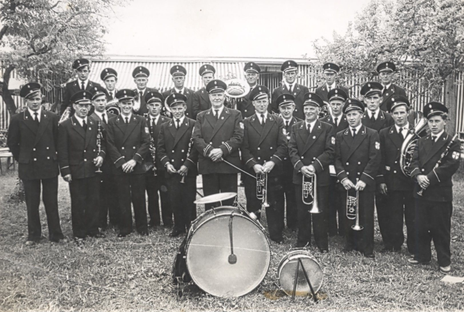 1956 erste Uniform