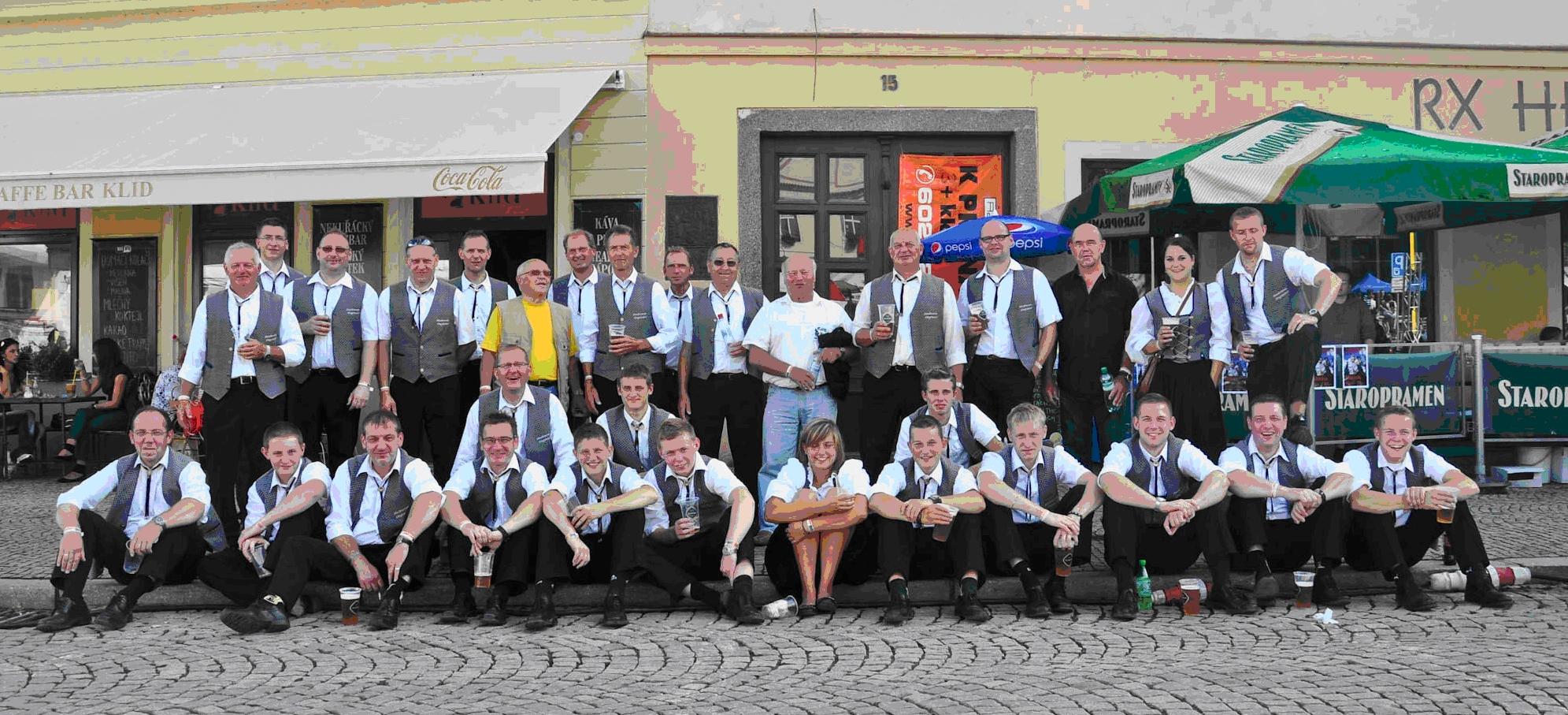 Ausflug im Rahmen der Städtepartnerschaft Konstanz – Tabor 2011