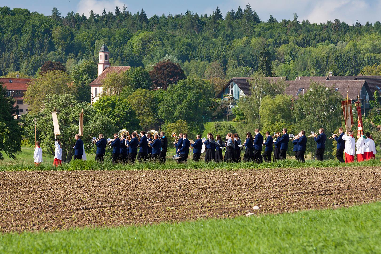 Musikverein Dingelsdorf an Christi Himmelfahrt