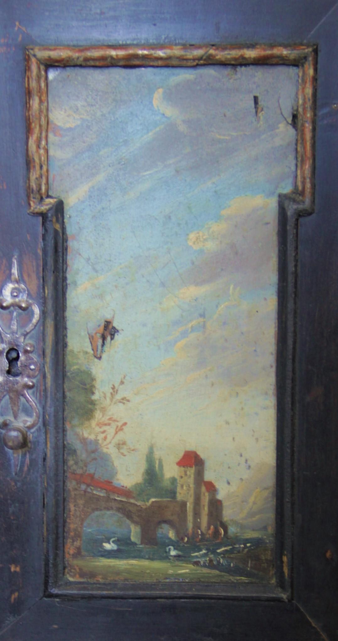 Zwischenzustand Gemälde an Türchen