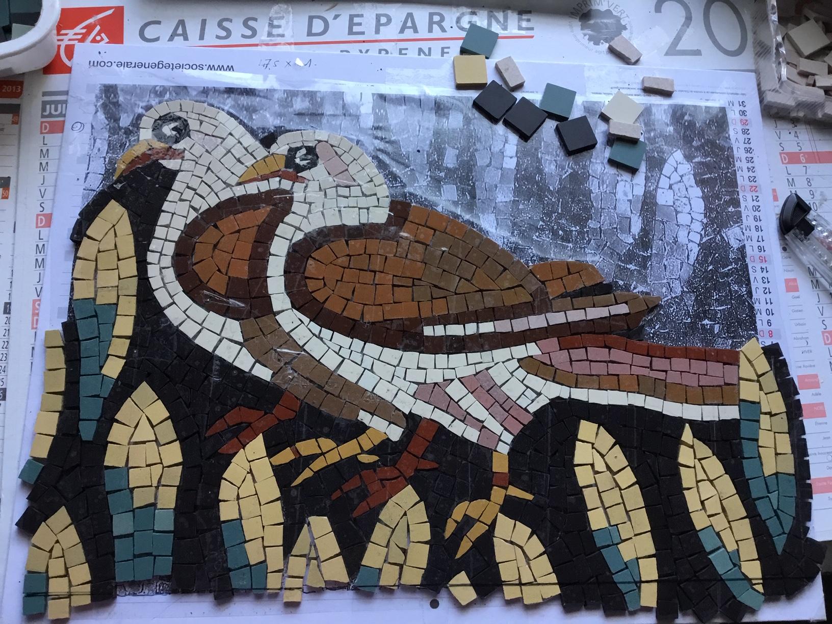 Geneviève du 82, les pigeons façon antique, sa madeleine de Proust ou son péché mignon : l'antique.