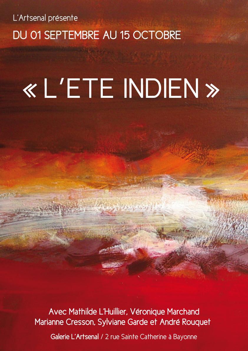 ETE INDIEN, sept 2015, Galerie l'Artsenal, Bayonne 64