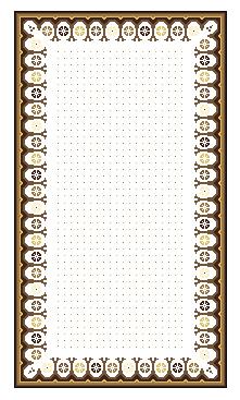 tapis n3 modifié, dessin infographique