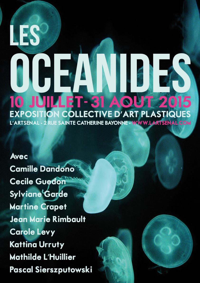 OCEANIDE, GALERIE L'ARTSENAL,BAYONNE 2015