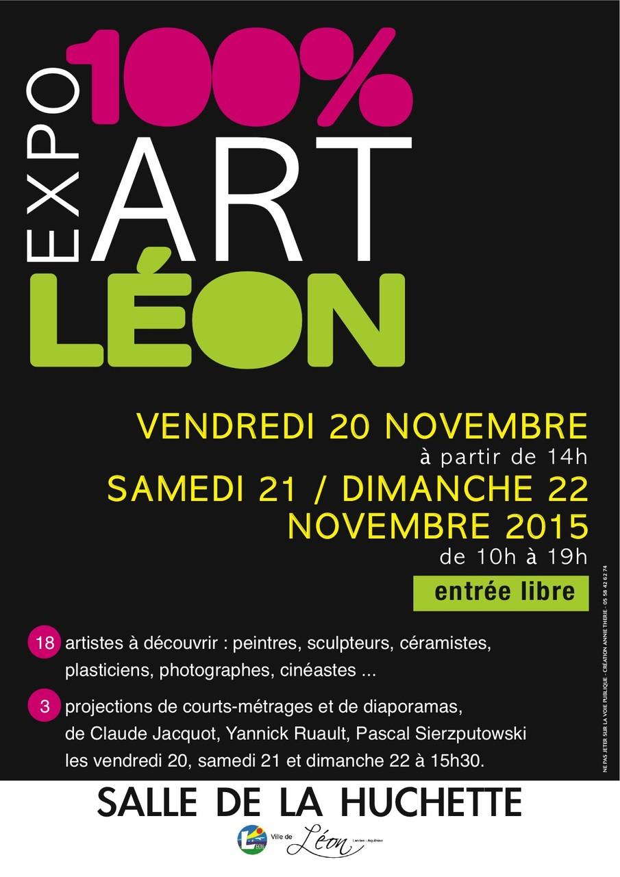 LEON ART, exposition nov 2015